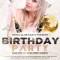 Flyer na Birthday Party